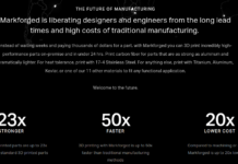 Markforged 3D Printers Raises $30 Million in Series C Funding