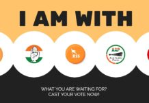 I AM WITH CAST YOUR VOTE