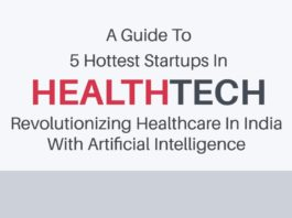 A Guide To 5 Hottest HealthTech Startups Revolutionizing Healthcare In India With Artificial Intelligence