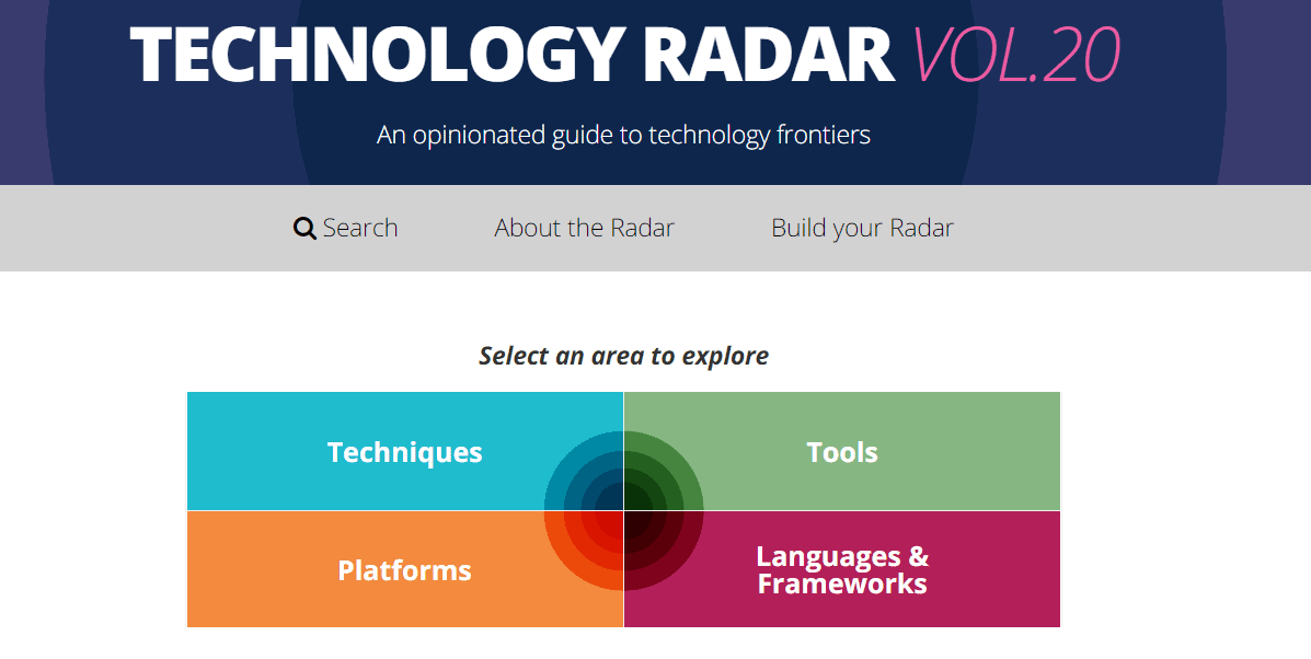 ThoughtWorks Technology Radar: Kotlin, Terraform and the new