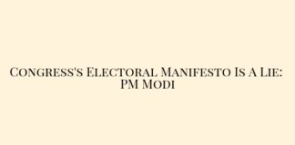 Congress's Electoral Manifesto Is A Lie_ PM Modi