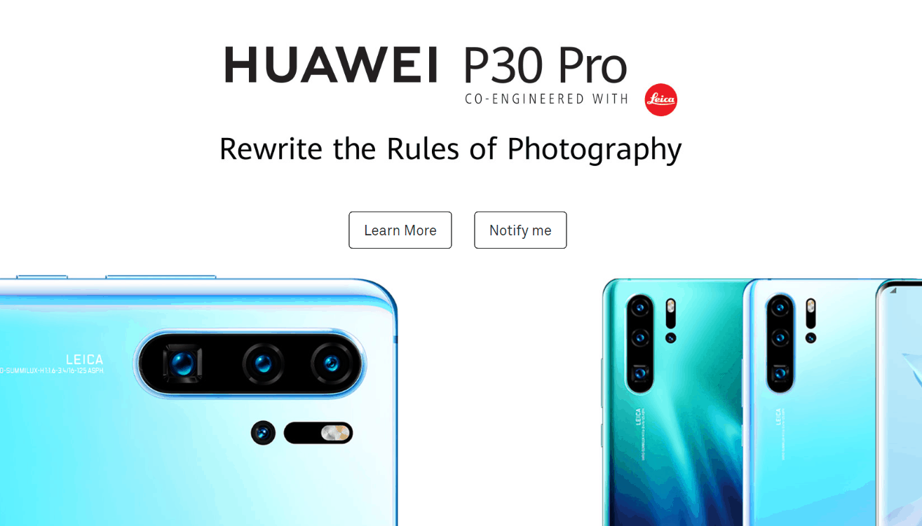 Huawei P30 Pro Comes To India: Full List of Features, Price