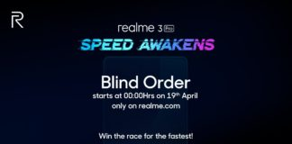 Realme 3 Pro: And would you dare to buy a smartphone in the dark?