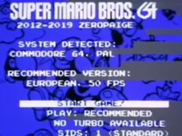 Nintendo has apparently stopped Super Mario Bros for C64