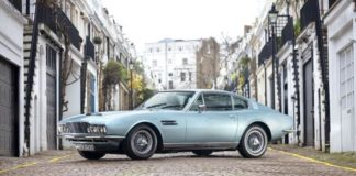 The Aston Martin DBS with six-cylinder was always in the shadow