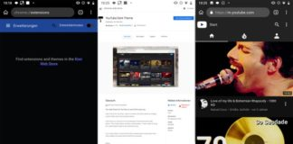 YouTube Dark Theme: Chrome add-on that works well on Android.