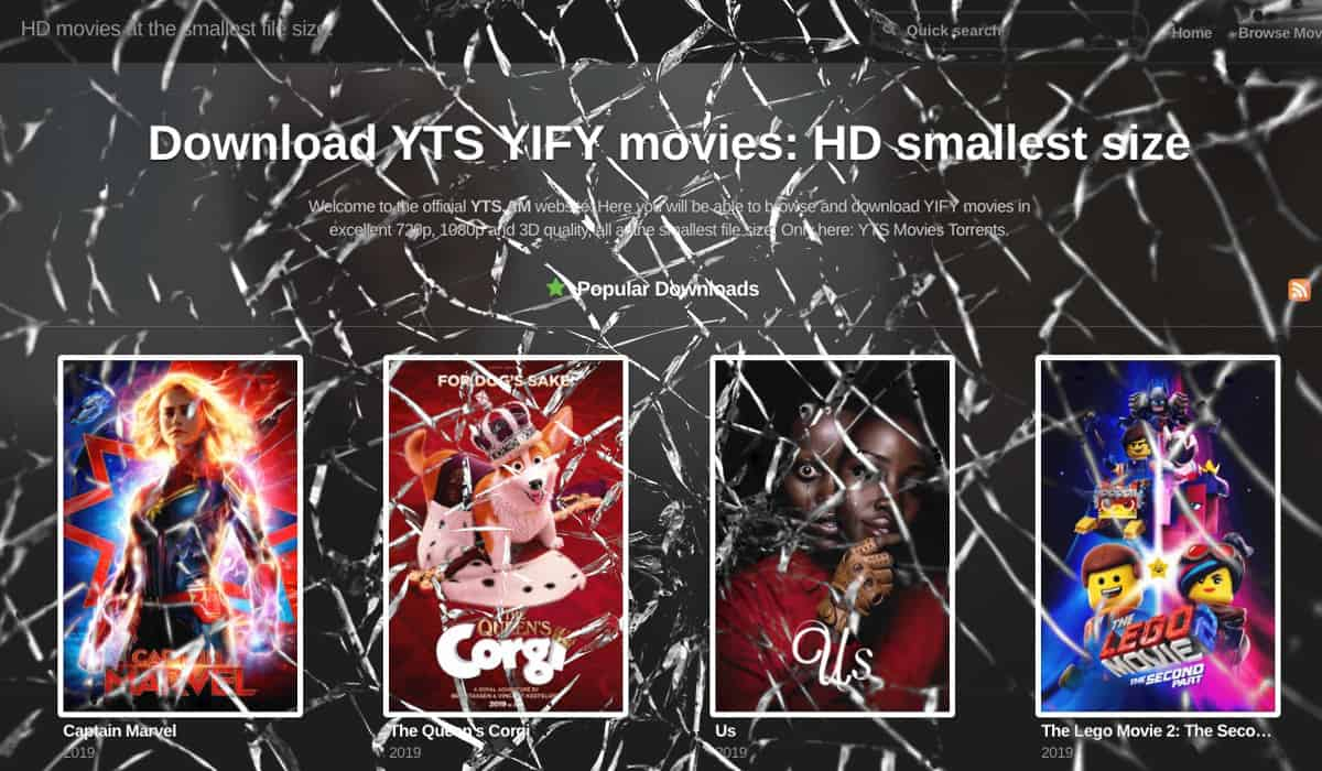 YTS and YIFY brought before a US court by film producers