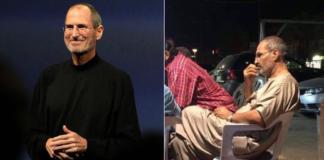 Apple Cofounder Steve Job in Egypt