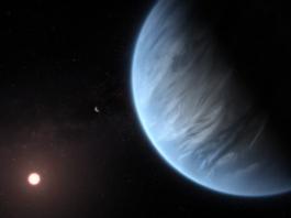A steam enveloped Planet K2-18b like super-earth
