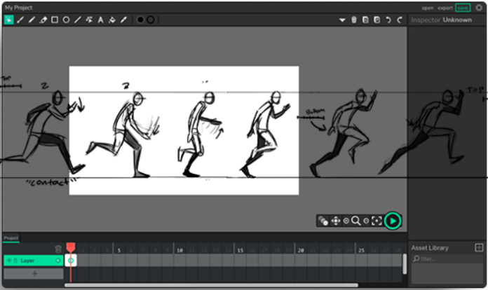 Animate IT - This website allows you to create animations in a simple and free way