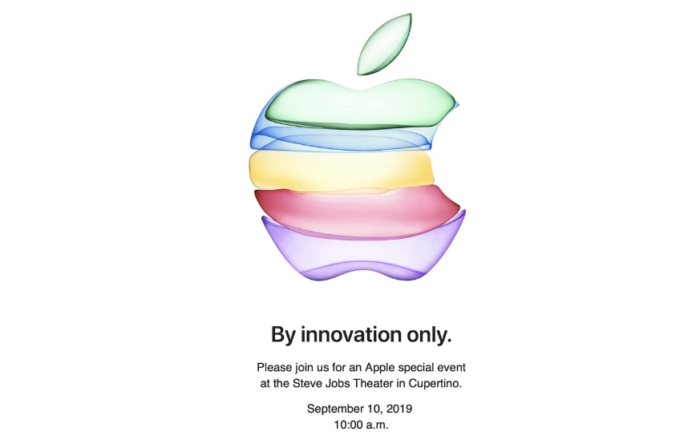 Apple Special Event 2019, The iPhone 11 keynote is already dated and will be on September 10