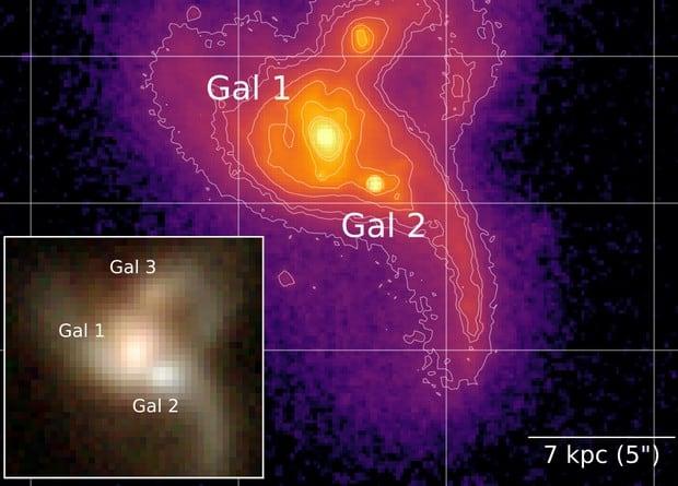 Astronomers have found a future triple supermassive black hole