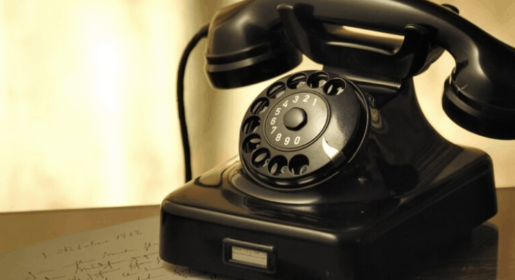 Dial Telephone- does Digital Natives know about this