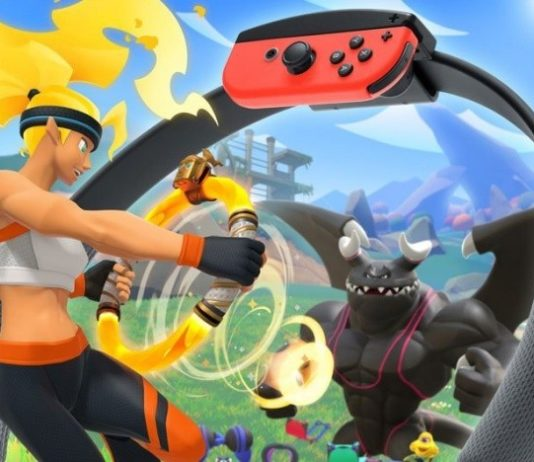 Fight the bodybuilder dragon with the power of the ring on Nintendo Switch