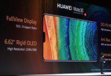 Huawei Mate 30: triple camera, Kirin 990, fast charge and OLED