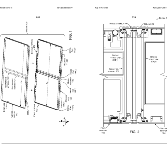 Microsoft Folding phone - How to implement folding screen