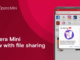 Opera Mini brings direct data exchange via WLAN without internet connection