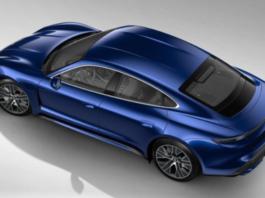 Porsche Taycan - a luxury electric car