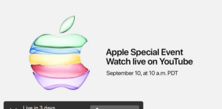 YouTube - Live Broadcast of Apple Special Event 2019 keynote from Steve Jobs Theater