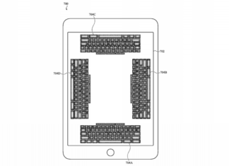 Apple files an application for a new patent for an on-screen keyboard that you can feel