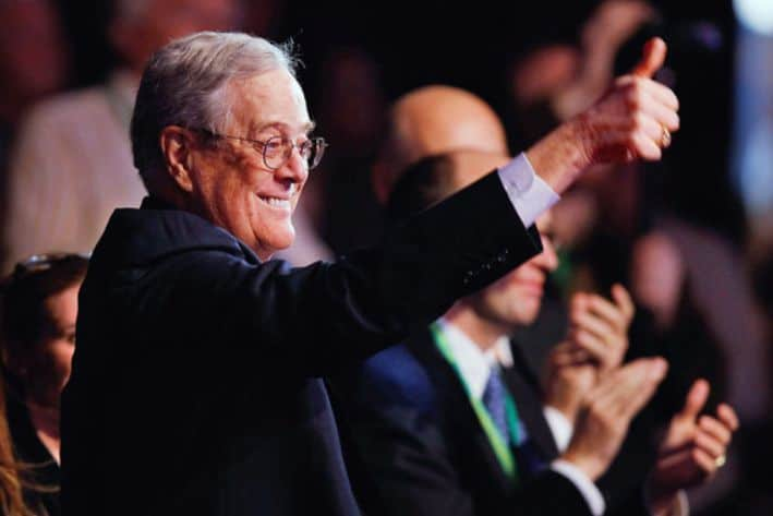 David Koch - The richest people in the world. 2019 Forbes ranking