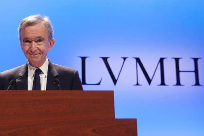 Bernard Arnault - The richest people in the world. 2019 Forbes ranking