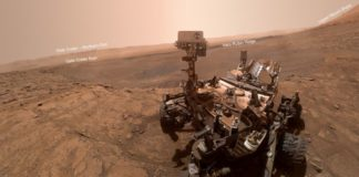 Curiosity sent a new selfie from Mars