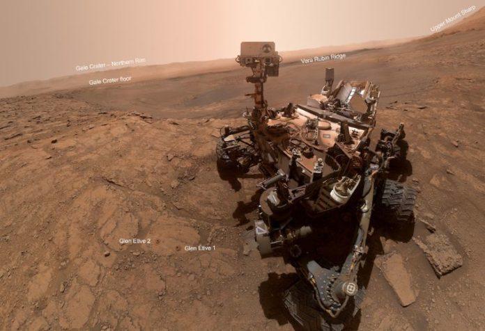 Curiosity sent a new selfie from Mars