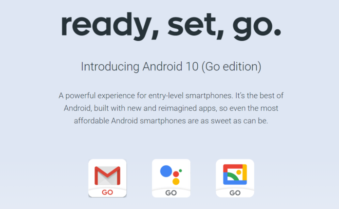 Google introduces Android Go Edition: a touch of high-end for beginners