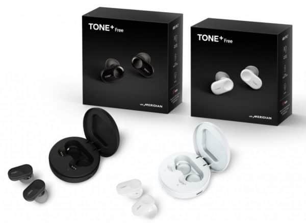 LG announces Tone +: wireless waterproof earphones