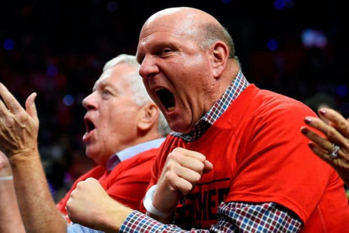 Steve Ballmer - The richest people in the world. 2019 Forbes ranking