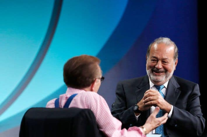 Carlos Slim - The richest people in the world. 2019 Forbes ranking