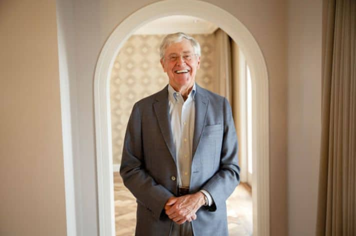 Charles Koch - The richest people in the world. 2019 Forbes ranking