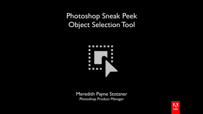 Photoshop learned to select the necessary objects automatically