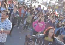 Protest in Chile: The Government is backing away