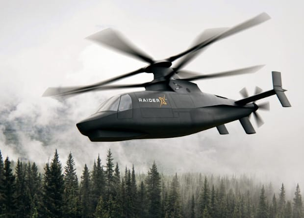 Sikorsky introduced a high-speed reconnaissance helicopter project