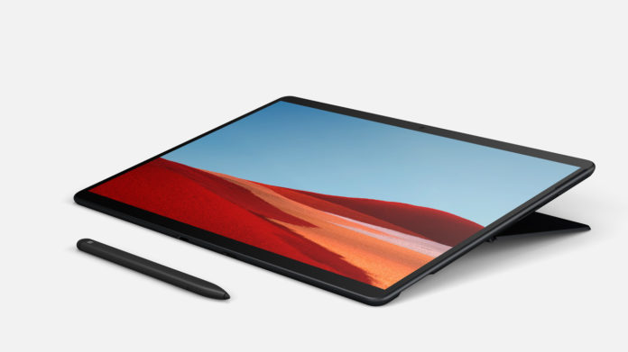 Surface Pro X: Microsoft 2-in-1 with SQ1 processor with ARM architecture