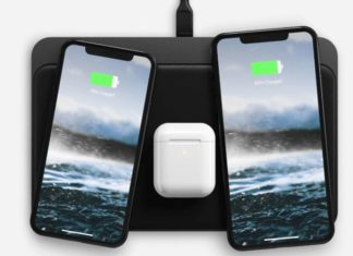 The new NOMAD wireless charging base, it charges at any point on its surface