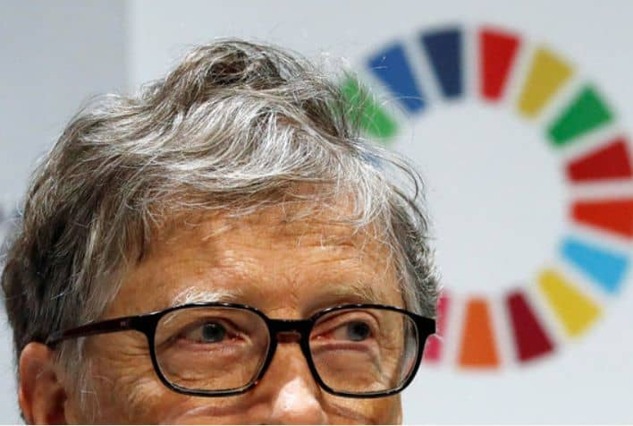 Bill Gates - The richest people in the world. 2019 Forbes ranking