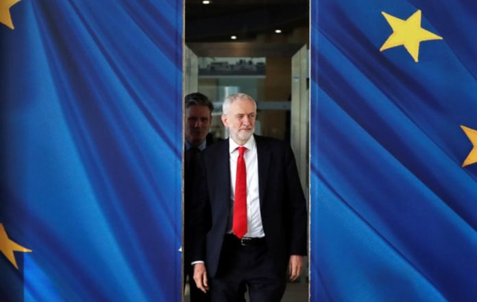 Labor leader Corbin pledges support for early UK elections