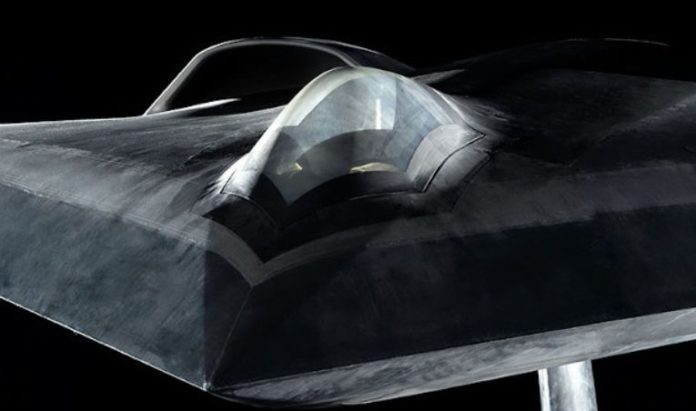 Europeans showed a model of stealth drone