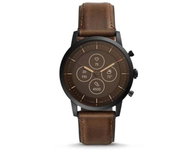 Fossil unveils smartwatch with electronic ink and arrows