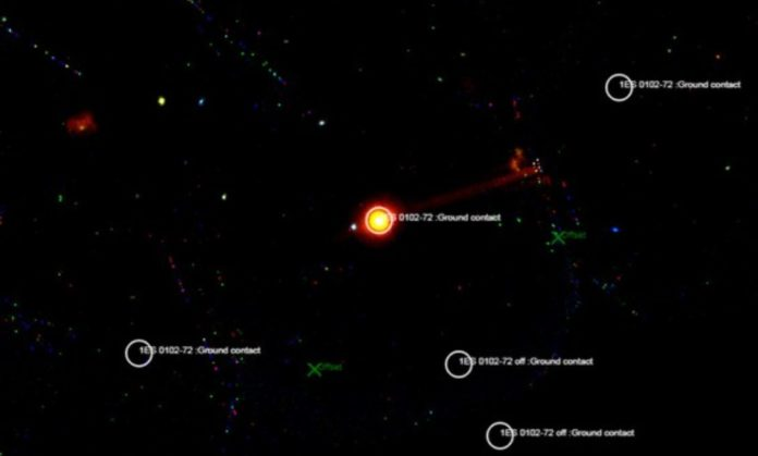 New data proves a rare type of binary of a Be-star and a neutron star
