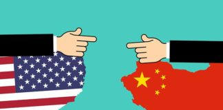 The United States called the activities of China in the South China Sea illegal