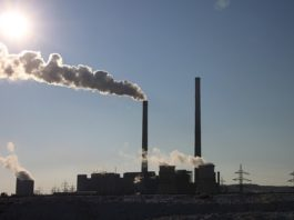 The average annual concentration of greenhouse gases again broke the record