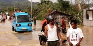 At least 50 dead in the Philippines by typhoon 'Phanfone' at Christmas