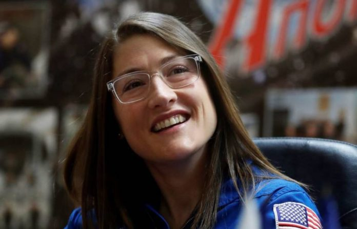 Christina Koch, the woman who has been the longest (in a row) in space