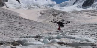 Drones will help Glaciologist track the movement of glaciers