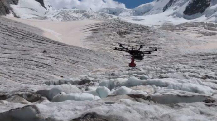 Drones will help Glaciologist track the movement of glaciers