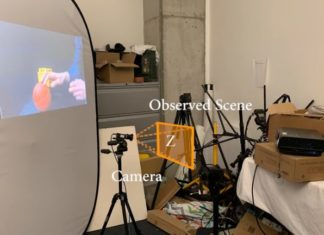 Neural network recovers video of shadows and flickering on fan